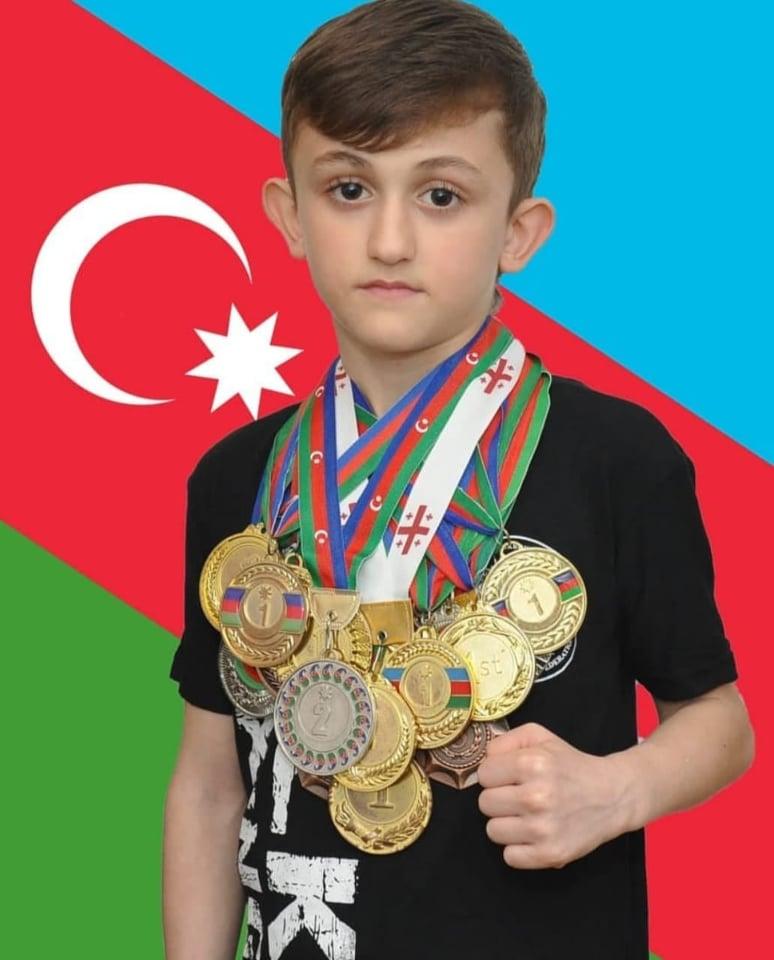 11 yaşlı idmançımız Şahin Əfəndiyev Dünya kubokunda 2-ci yeri qazandı... - FOTO