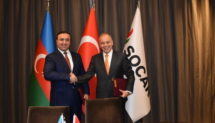 SOCAR AQŞ Türkiyədə yeraltı qaz anbarlarının inşası layihəsinə başlayır – FOTO