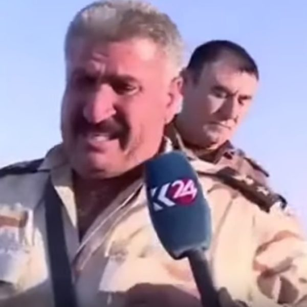 Terrorçular Türk əsgərinin qarşısında ağladılar - VİDEO