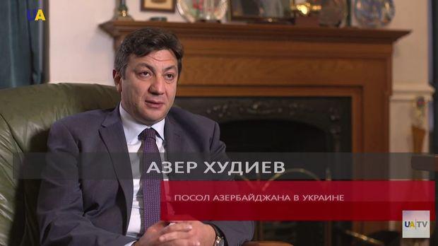 Azərbaycan səfiri Ukrayna telekanalında Ermənistanın işğalçılıq siyasətindən danışdı – VİDEO