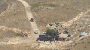 Naxçıvan istiqamətində hərbi texnikanın vurulması videosu
