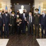 Hikmət Hacıyev Respublika Veteranlar Təşkilatının Rəyasət Heyətinin iclasında iştirak etdi