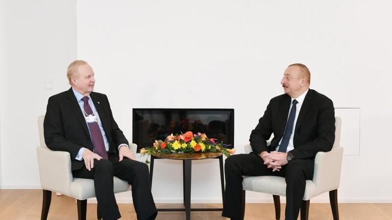 Azərbaycan Prezidenti ilə BP qrupunun baş icraçı direktorunun görüşü oldu