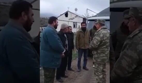 Ermənilər Ordumuzdan kömək istədi - Video